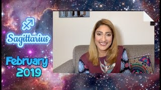 ♐ Sagittarius February 2019 Astrology Horoscope by Nadiya Shah