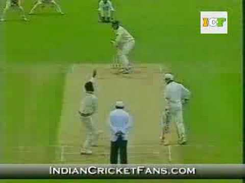 Javagal Srinath's fiery spell of bowling
