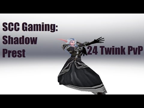 Wow 24 Twink Shadow Priest Pvp video
