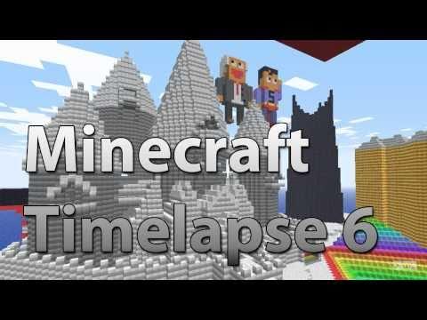 Minecraft Timelapse 6 - Winter Wonderland