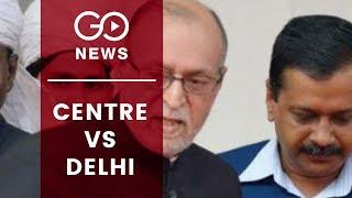 Centre Vs Delhi Govt: Case Referred