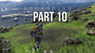 DEATH STRANDING Gameplay Walkthrough Part 10 - HOVERBOARD (Full Game)