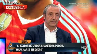 BOMBA: quotKEYLOR NAVAS SE IRA DEL MADRID EN ENEROquot