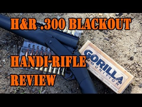 H&R AAC Handi-Rifle .300 BLK Review