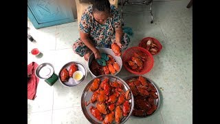 This is the reason why the crab tray is 3 times more expensive than the crab market