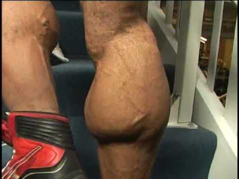 Bodybuilding - Extreme Calves - Michael Lockett - YouTube