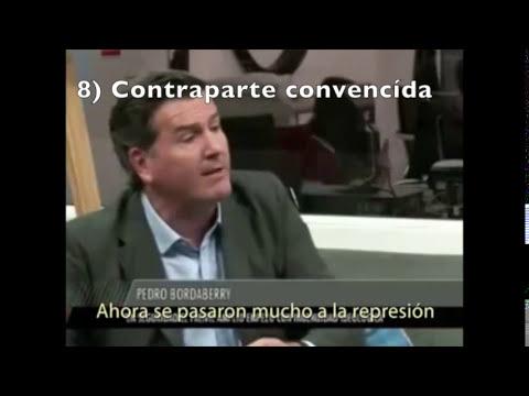 Paliza de Pedro a Gabriel Pereyra sobre Seguridad