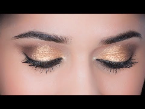 5-Minute Gold Eyes   Trend Alert