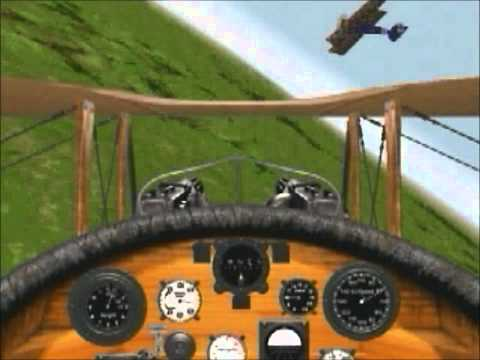 Red Baron II - game trailer FR (1997) PC (Windows)