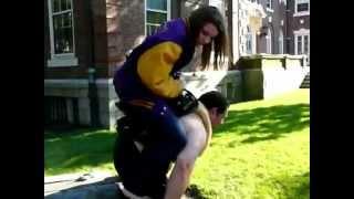 Shoulder ride human