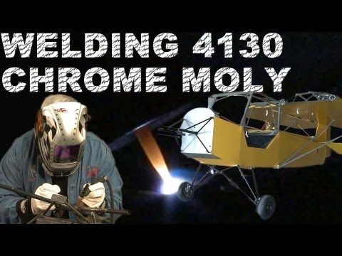 How to Weld 4130 Chrome Moly Landing Gear