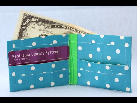 Sophie's World  Duct Tape Wallets