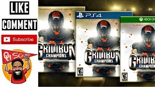 VIDEO GAME COLLEGE FOOTBALL NEWS: Gridiron Champions Debuts 2020