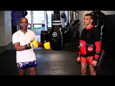 How to Do Kickboxing Drills | Muay Thai Image 1
