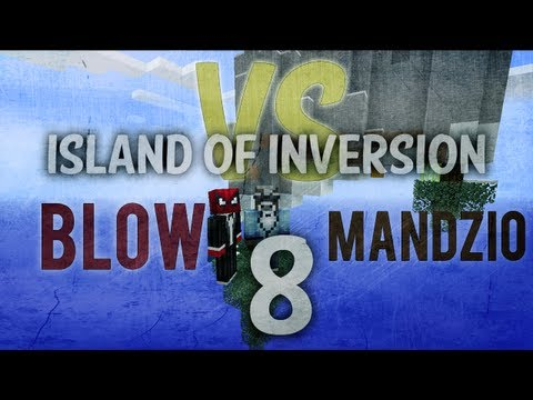 BLOW VS MANDZIO 2 - Śnieg, łuk i... Majewski? - odc. 8 (Island of Inversion)