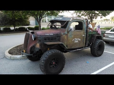 Out of Order 47 Dodge Rat at the Unlimited Offroad Expo 2014 - YouTube