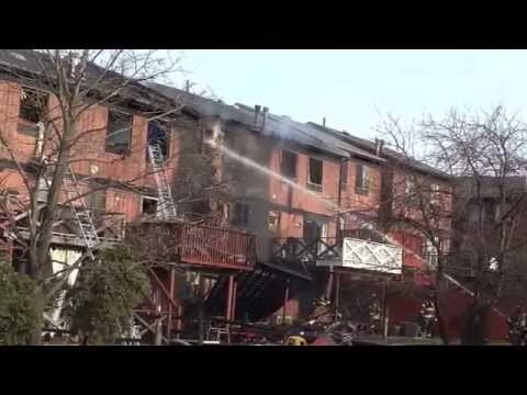 FDNY STATEN ISLAND 4TH ALARM STRUCTURE FIRE 3/16/15