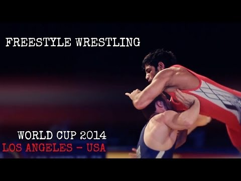2014 FILA Men's Freestyle Wrestling World Cup - Highlight