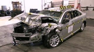 2013 Ford Taurus   Crash Test Documentation, Frontal Oblique Offset Test by NHTSA   CrashNet1