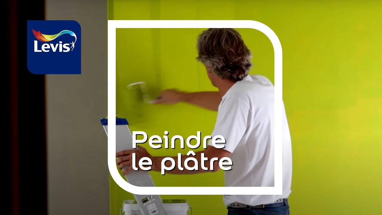 Comment peindre des plaques de pl tre youtube - Monter des plaques de platre ...