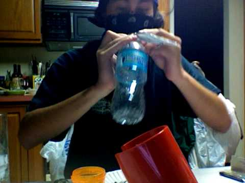 how to make water bottle bong. how to make a ong on 420 day