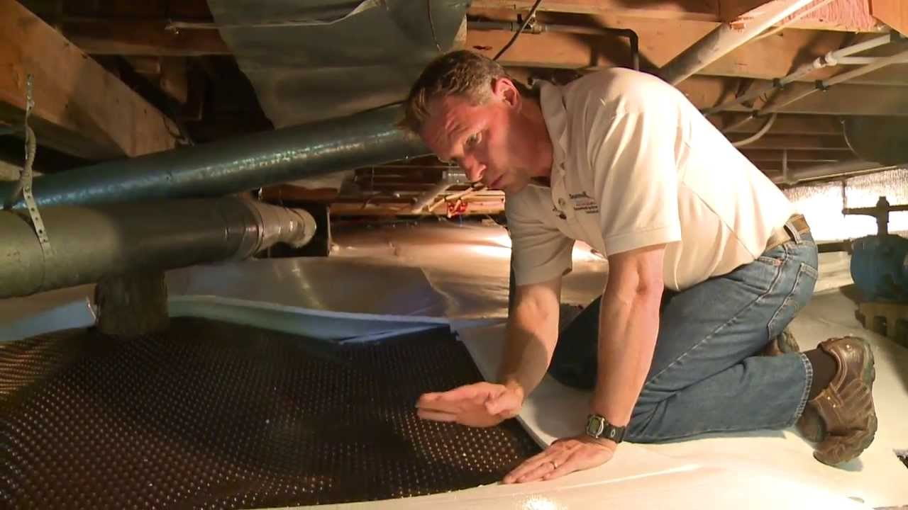 Crawl Space Insulation Youtube