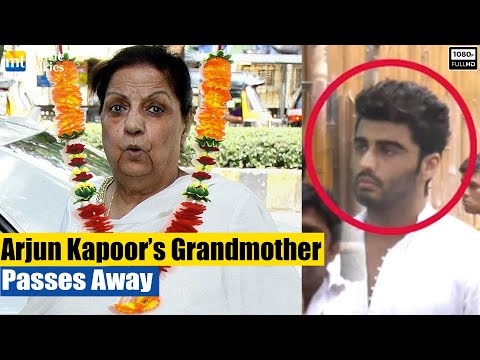 Arjun Kapoor's Grandmother's Funeral Ceremony