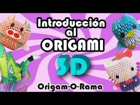INTRODUCCIÓN al ORIGAMI 3D!!! - YouTube