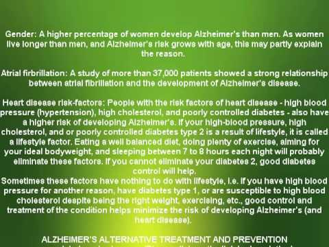 Alzheimer's disease cause and symptoms (NEW)