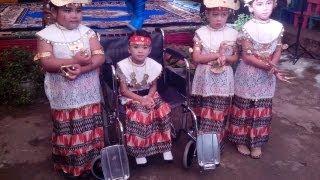 Tari Sigeh Pengunten Anak Anak TK Amarta Tani Bandar Lampung
