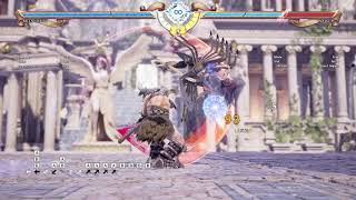 Soulcalibur 6: Mitsurugi 155 damage mid-screen (no air control)