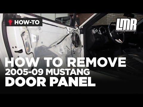 How to install replace door panel ford f 150 04 08 1aauto for 05 mustang door panels