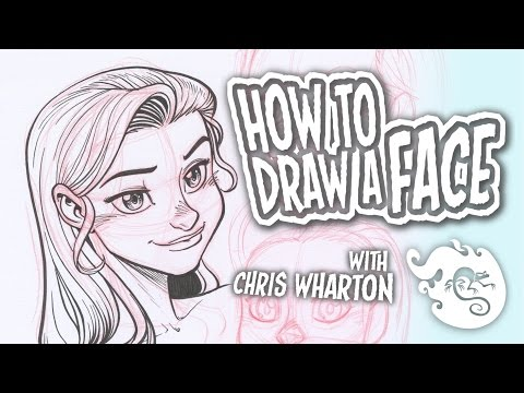 How to Draw a Face (Basics) - How to Draw #2 thumbnail