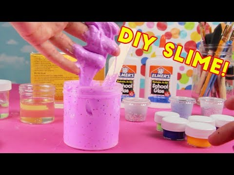 DIY SLIME KIT!  How To Make Slime! Mr. EMC2 Unboxing Review   SuperKidsToys