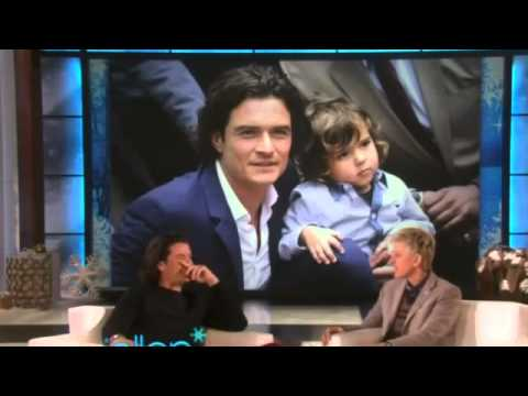 Orlando Bloom on Ellen - December 10th 2014 - Full Interview