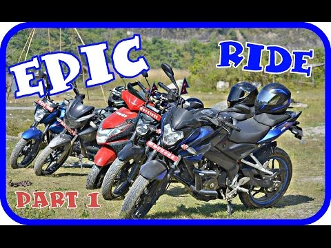 EPIC Ride to DOLALGHAT, Sukute Beach Part 1 | Ns 200, Apache RTR 180, Gixxer | MotoVlog | HD