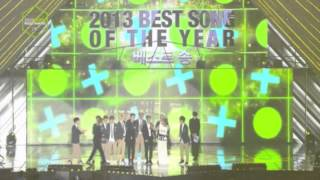 Best Song of The Year Award - EXO Growl @ 2013 Melon Music Awards