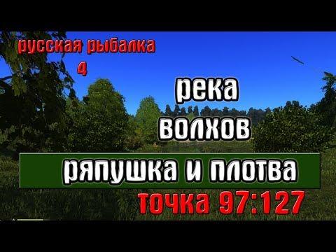 Русская рыбалка 4(рр4) - река Волхов. Ряпушка на острове.
