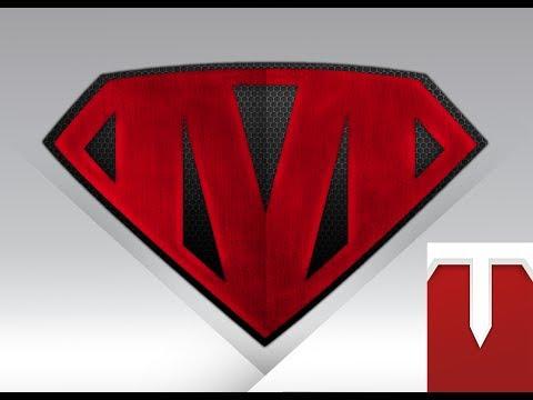 Crear un logo estilo Super Héroe | Create your Superhero Logo - TryToLearn