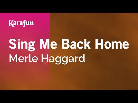 Karaoke Sing Me Back Home - Merle Haggard *