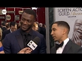 Aldis Hodge And Neil Brown Jr I SAG Awards Red Carpet 2016 I TNT
