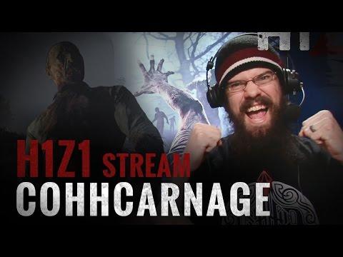 H1Z1 Pre-Early Access Survivor Stream - CohhCarnage