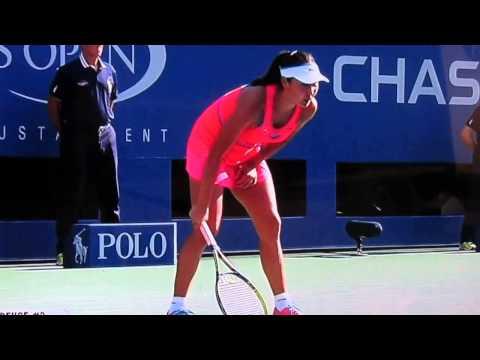 Shuai Peng in destructive agony once more vs. Caroline Wozniacki