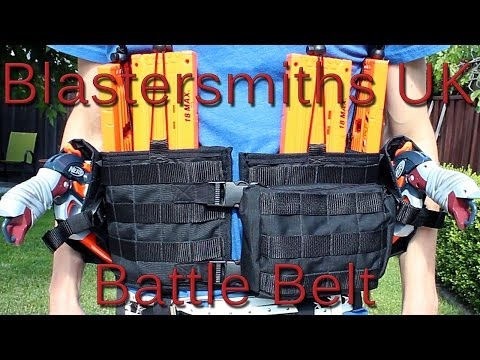 Blastersmiths UK Battle Belt - A Quick Look Review