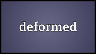 Deformed Meaning