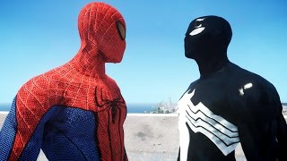 The Amazing Spider-Man VS Black Spiderman