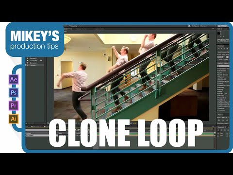 After Effects Tutorial: Looping Clone GIF
