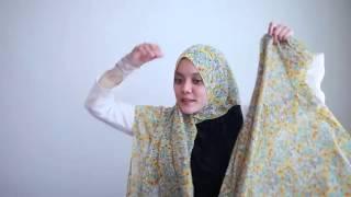 Ayesha Syahira: Alhijabsisters hijab tutorial 1