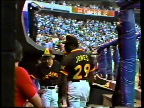 San Diego Padres vs, Atlanta Braves (the brawl), 1984