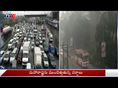 Huge Rainfall Lashes Maharashtra | TV5 News